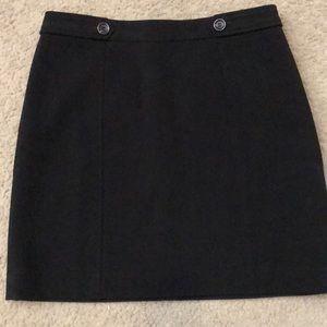 Black Loft skirt. Size 10